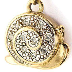 Pendant, Charm, Snail, Gold, Necklace, Pierre Lang